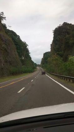 Carr. # 10 Arecibo a Utuado en Puerto Rico.
