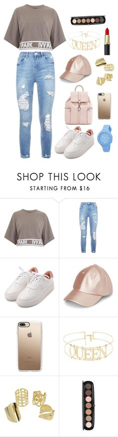 """fashion"" by ee3674889 ❤ liked on Polyvore featuring Topshop, Casetify, Marc Jacobs and Rip Curl"