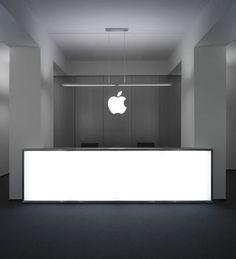 apple reception desk sketch - Google Search
