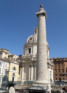 Italy. Colonna Traiana, Roma