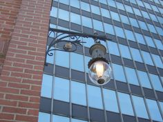 The First Electric Streetlight Downtown Cleveland, Electric