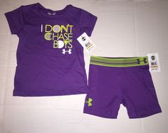 Check out this listing on Kidizen: NWT NEW Under Armour Toddler Girls Size 3T Shirt Shorts Outfit Set!! via @kidizen #shopkidizen
