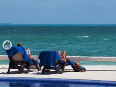 Chillaxing at the beach? Or chillaxing by the pool? You decide. Amara Cancún, Puerta del Mar; Cancun real estate