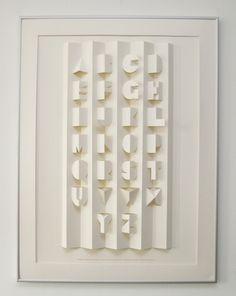 An alphabet poster! - mamutopia