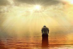 Homem, Humano, Pessoa, Mar, Oceano, Sun, Luz Solar