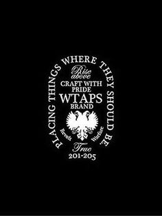 11 Best Wtaps Images Wtaps Logos Japan Logo