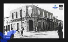 Calle Morelos esquina con calle Primo Verdad, aquí se ubicaba la Tienda del No 8, actualmente el Museo de arte contemporáneo. (foto AGM)