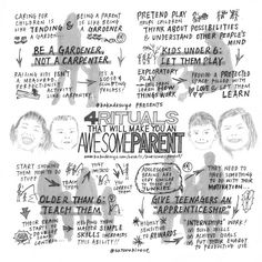 Posts about Sketchnote written by Satoru Hirose Good Parenting, Parenting Hacks, Sketch Notes, Raising Kids, Pretend Play, Other People, Doodles, Mindfulness, Posts