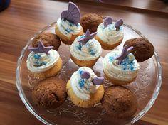 Zitronencupcakes mit Fondanttoppers zur Meeresparty zu Zoes 6. Geburtstag