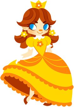 Princess Daisy by *Sprits on deviantART