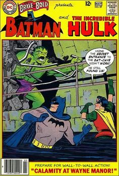 Super-Team Family: The Lost Issues!: Batman and The Hulk (Retro)