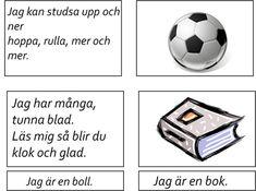 Learn Swedish, Swedish Language, Montessori Materials, Reggio, Speech Therapy, Activities For Kids, Preschool, Learning, Children