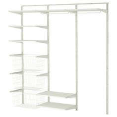 ALGOT Wall upright/shelves/rod - IKEA