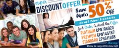 ☛ Super Discount Offer!! ☛ Save Up to 50% off!! ☛ Just Order & Avail The Offer #Education #Academic
