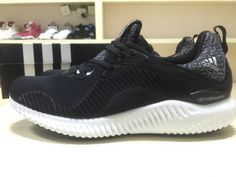 info for ca6b9 74563 Pas Cher Adidas Alphabounce 330 B54367 Black Noir White blanc Popular  Sneakers, Sneakers For Sale