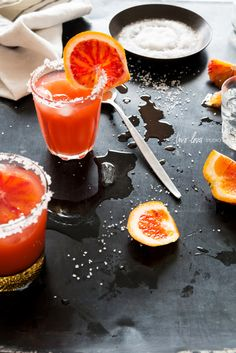 Blood Orange Margarita via Two Loves-Studio