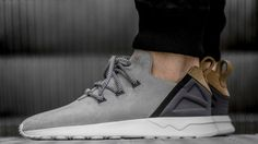 80511ba53a6d0 Find out all the latest information on the adidas ZX Flux ADV X Grey Suede  Gold