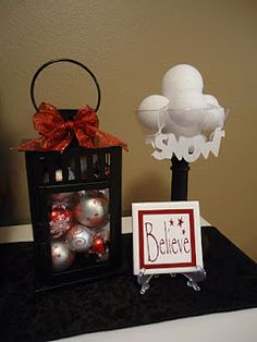 Christmas decorations! - several ideas here