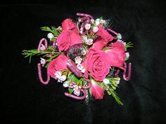 All Seasons Floral- Unique pink wrist corsage
