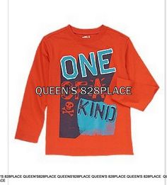 New TCP Girls The Children/'s Place Halloween Happy Squad Orange Top  5 6 yr NWT