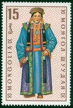 / glorious costumes from mongolia / mongolian postage stamp / 1993 / Mongolia, Postage Stamp Design, First Day Covers, Love Stamps, Vintage Stamps, Stamp Collecting, Laos, Vietnam, Costumes