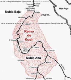 kush of africa   En su momento de máximo esplendor, el reino de Kush llegaría hasta ...