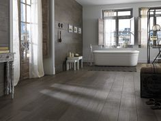 ceramic tile that looks like wood | For a bold rustic look a Tile that looks like Wood is great to create ...