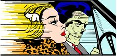 Shelley's Art Musings - STREET ART: Pleins feux sur D*Face (Dean Stockton) - Parkstone Art Blog Roy Lichtenstein, Jasper Johns, Urban Street Art, Urban Art, Andy Warhol, Dali, Pop Art Vintage, Richard Hamilton, Fast Print