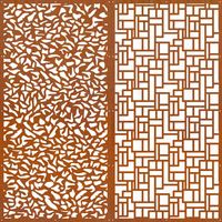pool fencing? decorative metal screens corten laser cut garden screen