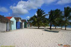 Le village de pecheurs de l'ile de Saona - Republique Dominicaine