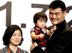 Yao Ye Li, Yao Qin Lei and Yao Ming