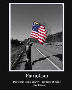 Patriotism - It begins with you!