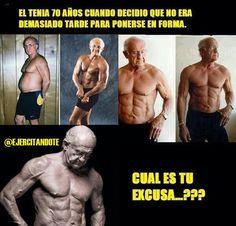 ¡No hay excusas!