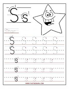 Free Printable letter S tracing worksheets for preschool. Free connect the dots learning upper and lowercase letters worksheets for kids Preschool Writing, Preschool Letters, Letter Activities, Free Preschool, Preschool Learning, Letter Tracing Worksheets, Tracing Letters, Handwriting Worksheets, Handwriting Practice