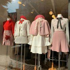 A cute little window of cute little outfits :) Outfits Kawaii, Kawaii Clothes, Girly Outfits, Pretty Outfits, Vintage Outfits, Cute Outfits, Vintage Fashion, Kawaii Fashion, Lolita Fashion