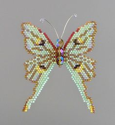 Small Luna Moth PDF Pattern and Tutorial by WizardIslandDesigns on Etsy