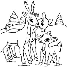 20 Best Rudolph The Red Nosed Reindeer Coloring Pages For Your Little Ones