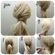 Hairstyle names, work hairstyles, pretty hairstyles, wedding hairstyles for Going Out Hairstyles, Sweet Hairstyles, Work Hairstyles, Pretty Hairstyles, Wedding Hairstyles, Evening Hairstyles, Hairstyle Ideas, Blonde Hairstyles, Curly Ponytail Hairstyles