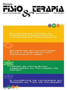Edição 43 da Revista NovaFisio. Tudo sobre Fisioterapia.