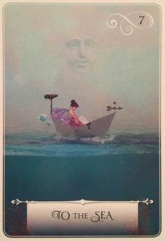 To The Sea, from the Wisdom Of The Oracle, by Colette Baron-Reid