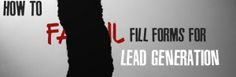An Honest Perspective on Internet Marketing Leads - Bad Image, Lead Generation, Internet Marketing, Fails, How To Get, Led, Business, Landing, Counter