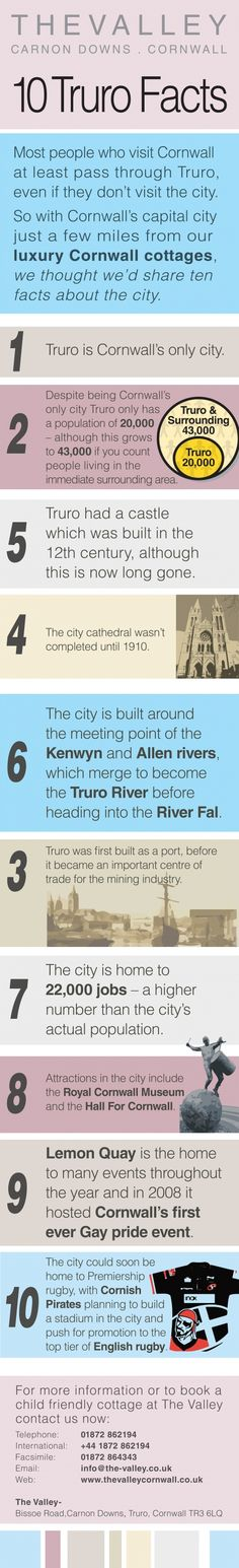 CORNWALL'S ONLY CITY | Truro has a population of under 20,000 people     ✫ღ⊰n