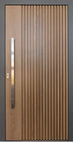 Modern Wooden Doors, Custom Wood Doors, Bed Design, House Design, Main Door Design, Apartment Bedroom Decor, Entrance Doors, Decoration, Aluminium