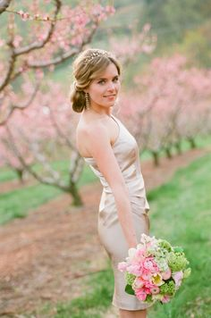Bridesmaid in Taupe | photography by http://www.jenfariello.com