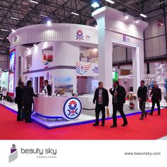 """JPC Plast Euresia 2015 Exhibition stand design is a major part of what we do and is an essential service that goes """"hand in hand"""" ensuring your exhibition stand is delivered on time, on budget and on brief. For more details visit our website : http://beautisky.com/ #ExhibitionStandDesignersDubai"""