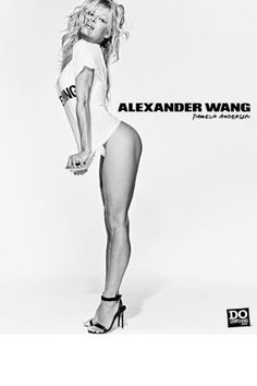 Alexander Wang cast 38 celebrities and models to debut his new collection with Do Something.Org. See them all here: Pamela Anderson