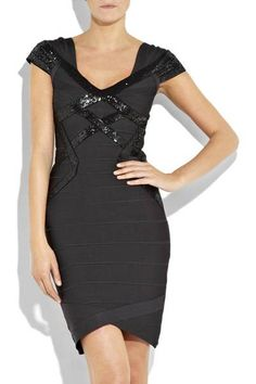 a512e79c5ed549 Black Herve Leger Celebrity Bandage Dresses Sale Cheap from China Herve  Leger Outlet Store, shipping