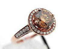 Le Vian chocolate diamond engagement ring.  A must have 4 the fine jewelry collector!