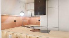 ARCHILAB architekti - interiér bytu, Slnečnice, Bratislava Bratislava, Kitchen Island, Kitchen Cabinets, Architekti, Sink, Nova, Home Decor, Projects, Island Kitchen