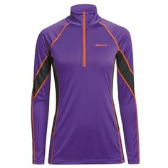 64f92d23 Marmot Polartec® PowerDry® Base Layer Top - Lightweight, Zip Neck, Long  Sleeve (For Women)
